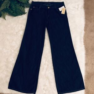 NWT Michael Kors wide leg jeans trousers